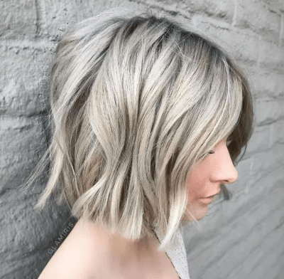 Carré blond polaire
