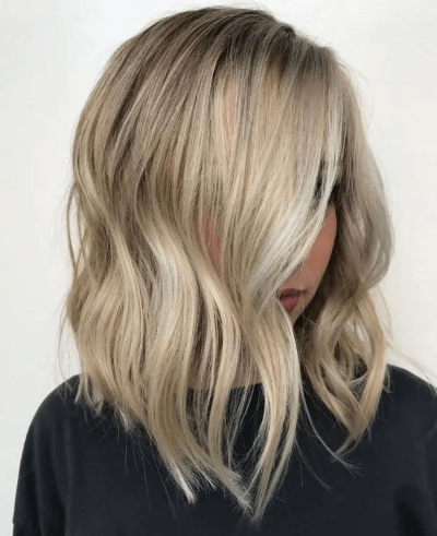Coloration blond miel