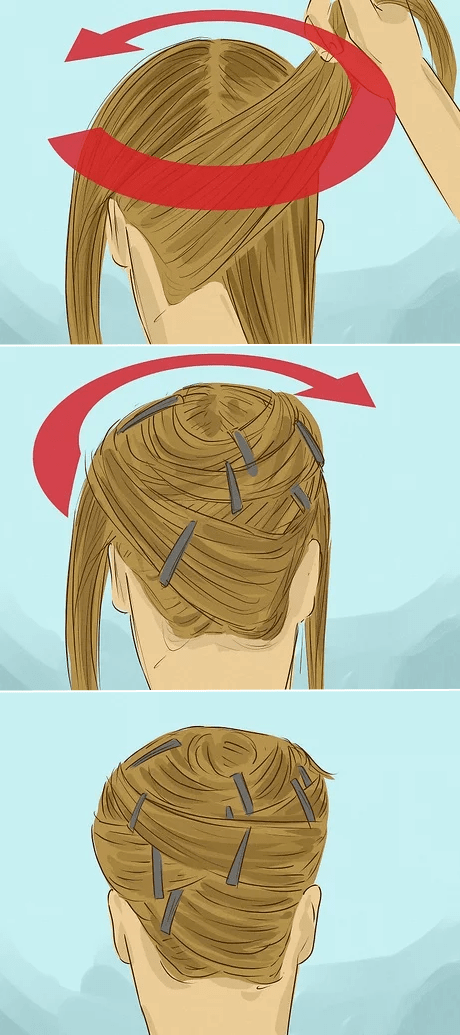 hair wrapping
